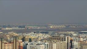 Piękny Dubai 4k czasu lotniskowy upływ zbiory
