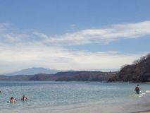 piękny dzień na plaży Fotografia Stock