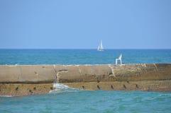 Piękny dzień przy morzem Fotografia Royalty Free