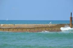 Piękny dzień przy morzem Obrazy Stock