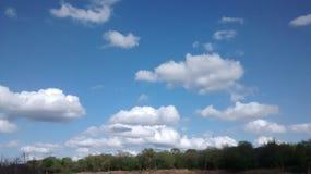 Piękny dzień przy parkiem Zdjęcia Stock