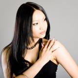 piękny dziewczyny portreta studio fotografia stock