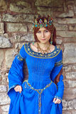 Piękny Eleanor Aquitaine, duchess i królowa, Anglia i Francja na Wysokich wiekach średnich zdjęcie royalty free