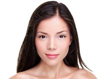 Piękny etniczny kobiety piękna portret Zdjęcie Royalty Free