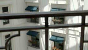 Piękny Europejski kwiatu balkon zbiory