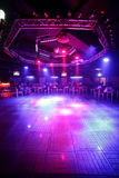 Piękny europejski noc klubu wnętrze Obrazy Royalty Free