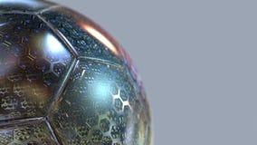 Piękny futbolowy tło