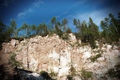 Piękny górkowaty krajobraz Zdjęcie Royalty Free