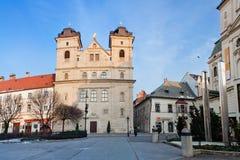 Piękny gothic kościół w Kosice Obrazy Royalty Free