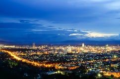 Piękny Hatyai miasto obraz royalty free