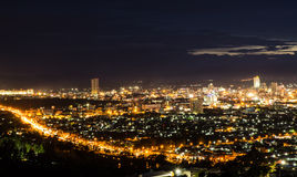 Piękny Hatyai miasto zdjęcia stock