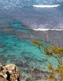 Piękny hawajczyka wybrzeże fotografia royalty free