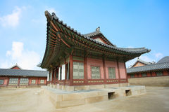 piękny historii Korea kyongbok krajobrazu pałac Zdjęcie Royalty Free