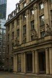 Piękny historyczny dom w centrum Frankfurt magistrala - jest - Niemcy zdjęcia royalty free