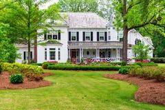 Piękny historyczny, tradycyjny dom, Obrazy Stock