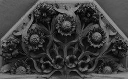 Piękny i ładny kwiatu bukiet pod balkonem Obrazy Royalty Free