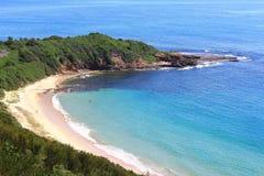 Piękny i Gorący dzień przy Portowym Kembla, Nowe południowe walie, Australia zdjęcie stock