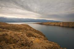 Piękny i spektakularny krajobraz w Chorwacja zdjęcia royalty free