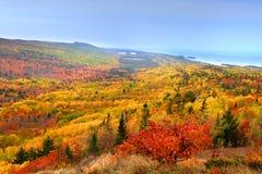 piękny jesień krajobraz fotografia stock
