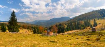 piękny jesień krajobraz Obrazy Stock