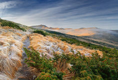 piękny jesień krajobraz Fotografia Royalty Free