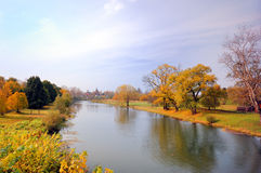 piękny jesień krajobraz Obraz Royalty Free