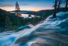 Piękny Jeziorny Tahoe Kalifornia obraz royalty free