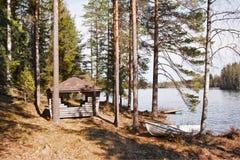 piękny jezioro Obraz Royalty Free