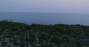 Piękny 4K powietrzny wideo Dalmatia, Chorwacja, Europa zdjęcie wideo