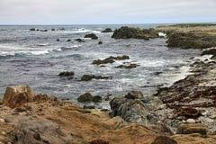 Piękny Kalifornia wybrzeże fotografia royalty free