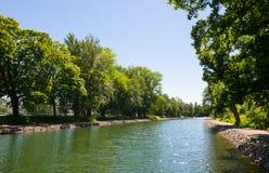 Piękny kanał Zdjęcie Royalty Free