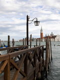 Piękny kanałowy widok w Venice Obrazy Stock