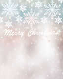 Piękny kartki bożonarodzeniowa tło Fotografia Stock
