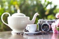 Piękny kawy wciąż życie Fotografia Royalty Free
