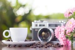 Piękny kawy wciąż życie Fotografia Stock