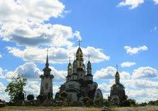Piękny kościół chrześcijański Obrazy Royalty Free