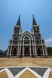 Piękny kościół katolicki w Chanthaburi Tajlandia Obrazy Stock