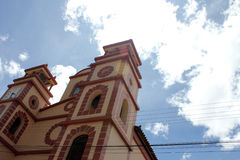 Piękny kościół w Wenezuela obrazy stock