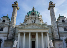 Piękny kościół w Wiedeń Fotografia Stock
