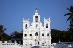 piękny kościelny goa fotografia stock