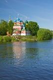 piękny kościelny las Zdjęcia Stock