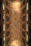 Piękny kościelny sufit Fotografia Stock