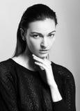 Piękny kobieta model zdjęcia stock