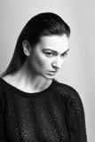 Piękny kobieta model fotografia royalty free