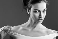 Piękny kobieta model zdjęcie stock