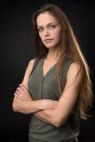 piękny kobiety modela portret obrazy stock