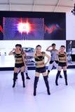Piękny kobiety rozrywki przedstawienie Fotografia Royalty Free