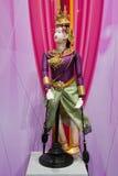 Piękny kolorowy kukiełkowy taniec Obraz Royalty Free