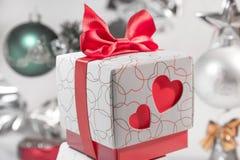 Piękny koloru prezenta pudełko Obraz Royalty Free