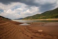 Piękny krajobraz Bebresh tama, Bułgaria Obraz Royalty Free